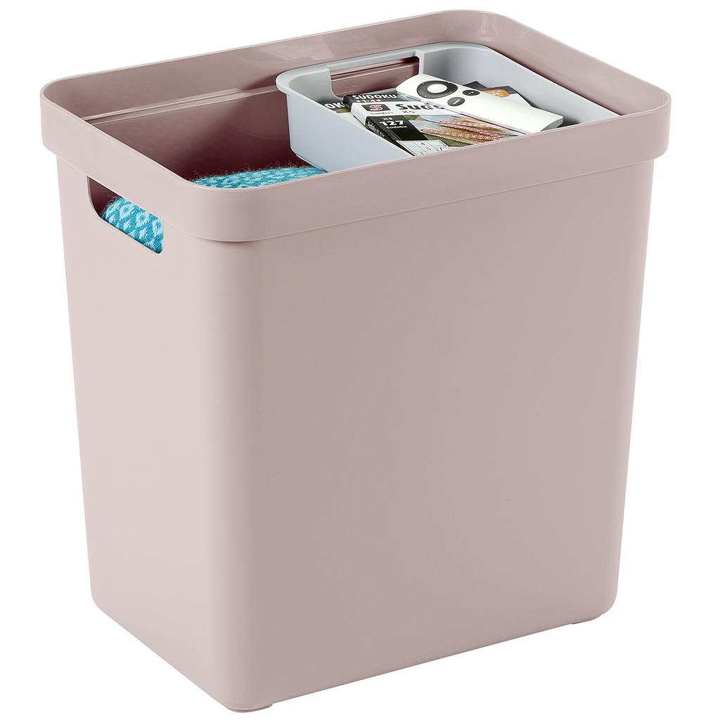 Sigma home storage box 25L pink