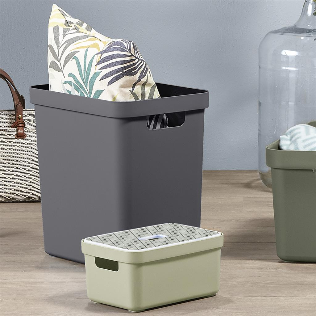 Sigma home opbergbox 25L antraciet