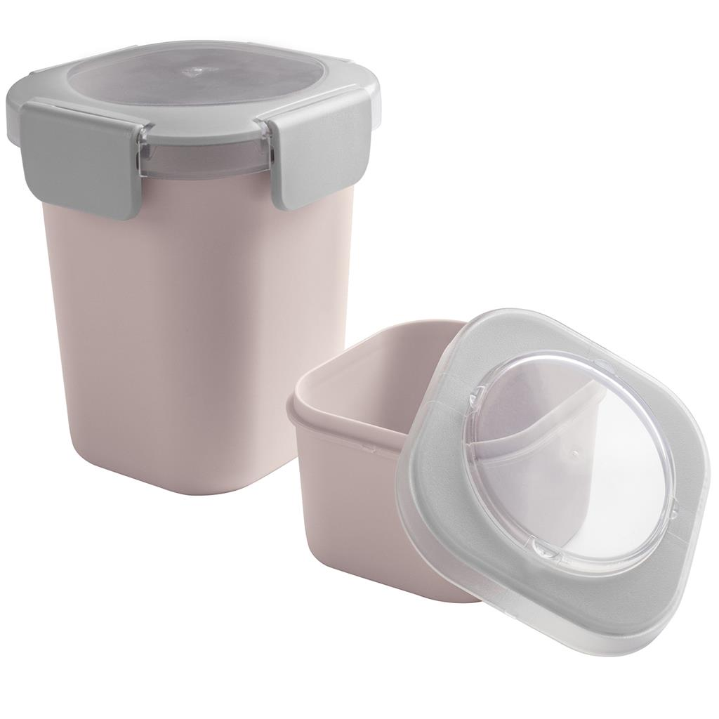 Sigma home Food to go lunchbeker roze
