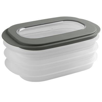 Sigma home meat keeper transparent green
