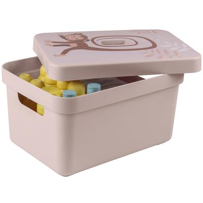 Sigma home lid monkey pink - storage box 9L, 13L, 18L and 25L