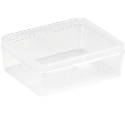 Q-line storage box 0.9L transparent