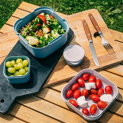 Sigma Home Food to go Lunch kit blauwgrijs/donkerbl.